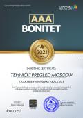 TEHNIČKI PREGLED MOSCOW